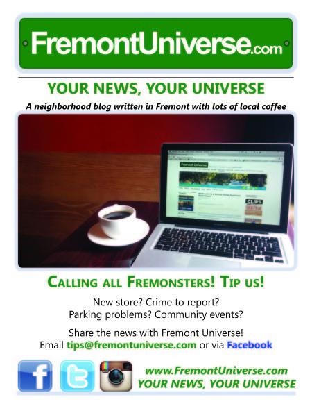 Fremont Universe Flyer