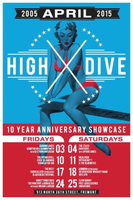 highdive anniversary