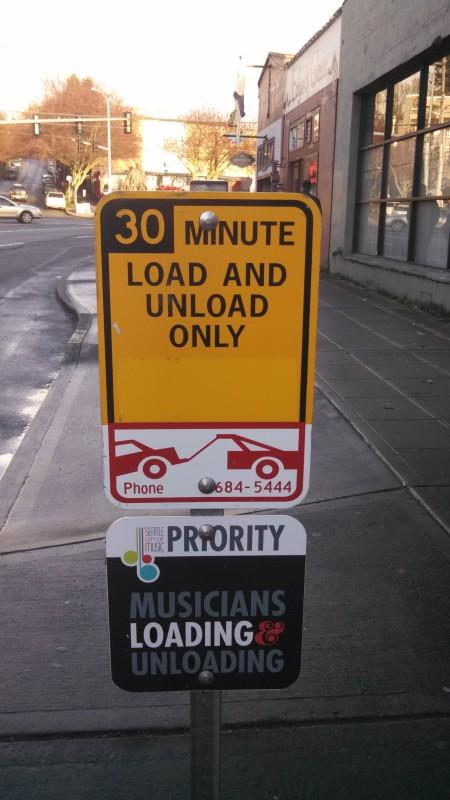 musician loading:unloading